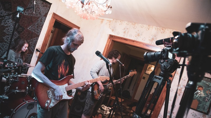 "VIDEO: Glass Pony Performs ""Something Good"" 