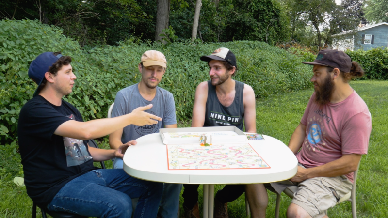VIDEO: Board Games with Band Members | Annie In The Water