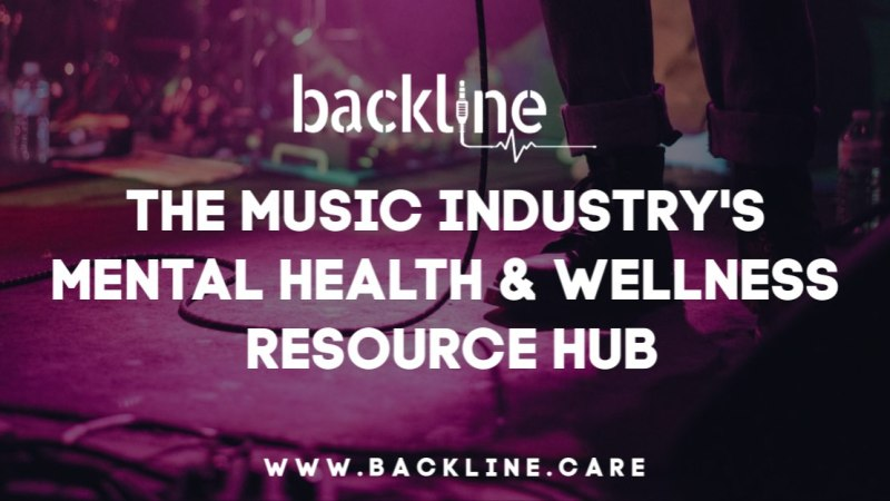 Backline: The Music Industry's Mental Health & Wellness Resource Hub