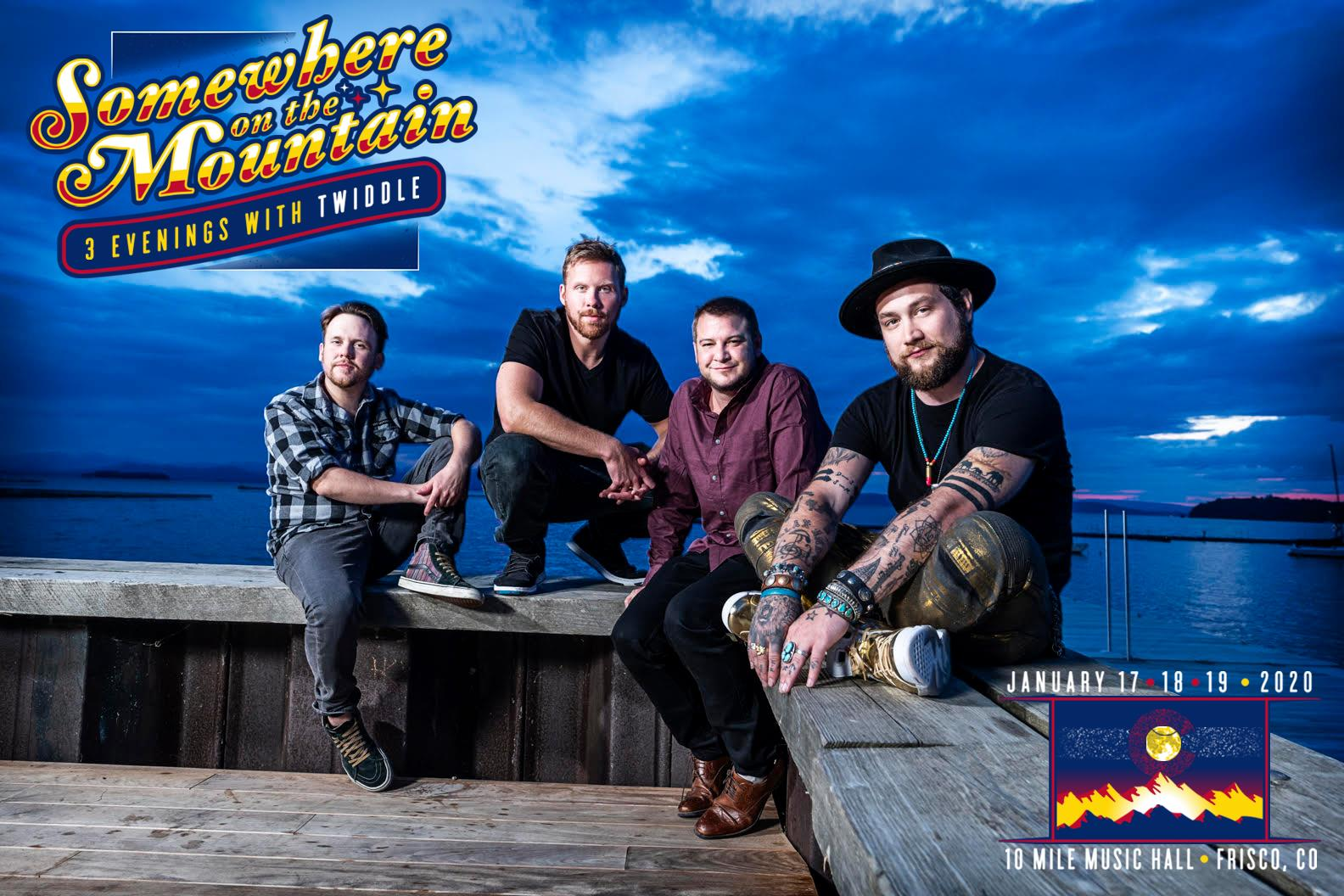"""Twiddle To Host Inaugural Three-Night """"Somewhere On The Mountain"""" Run In Frisco, Colorado"""