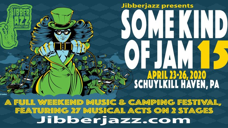 JibberJazz Announces Some Kind Of Jam 2020 Lineup