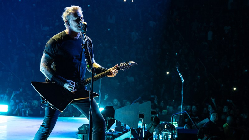 Metallica Raises Over $100,000 From Concert Streaming For 'All Within My Hands' Foundation
