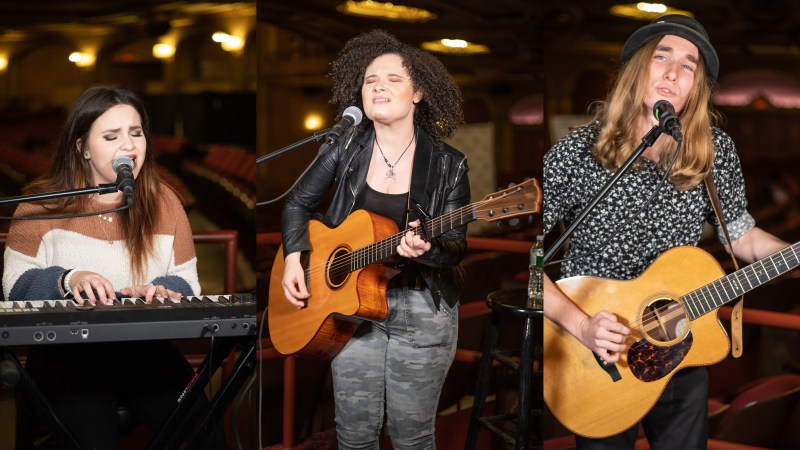 Madison VanDenburg, Moriah Formica and Sawyer Fredericks set to kick off Palace Sessions 2.0