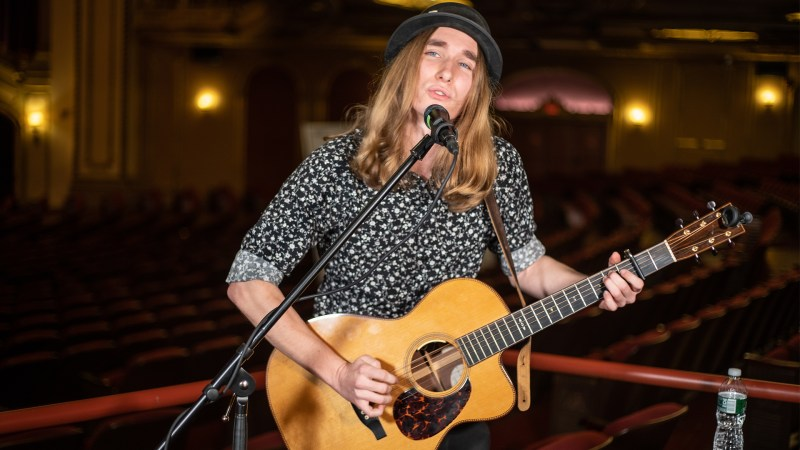"VIDEO: Sawyer Fredericks Performs ""Amen"" Live at the Palace Theatre in Albany, NY"