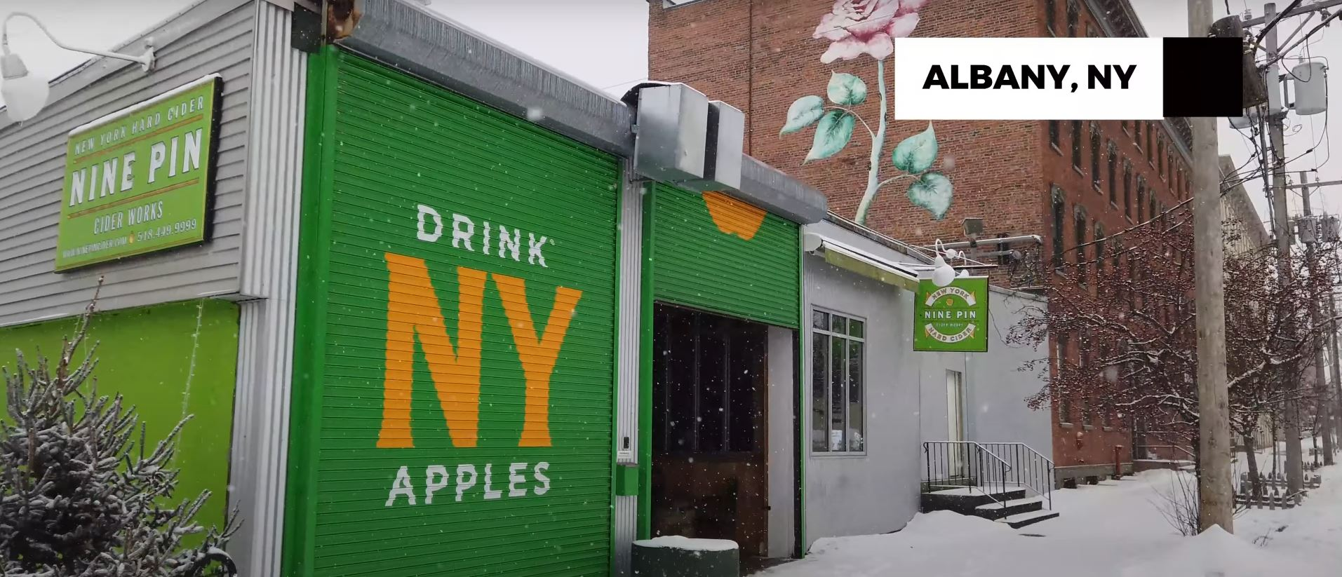 VIDEO: Touring Nine Pin Cider in Albany, NY