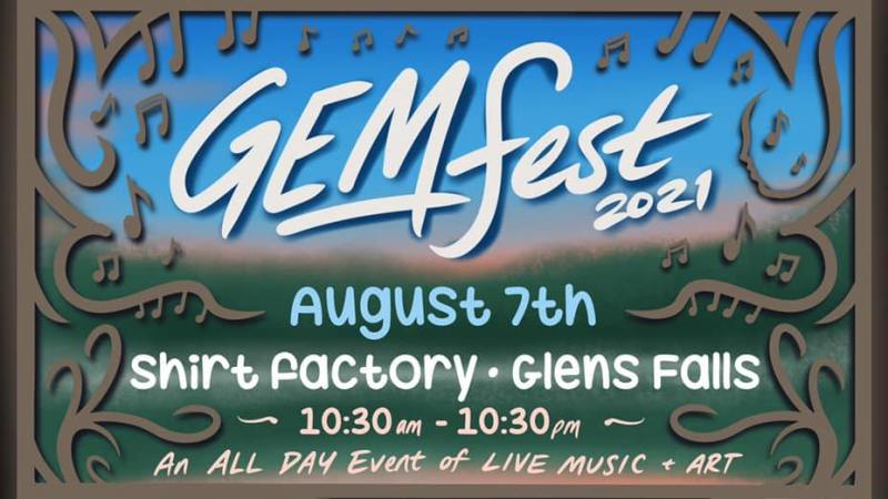 GEM Fest 2021 Set to Take Place In Glens Falls on August 7th