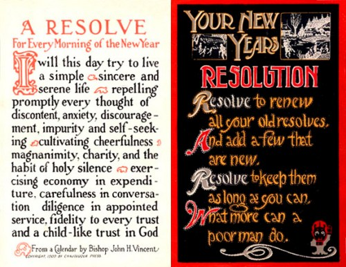 Resolutions: Good Bye 2012 And Happy New Year!
