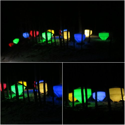 Weekly Photo Challenge: Surprise...Glowing Night lights