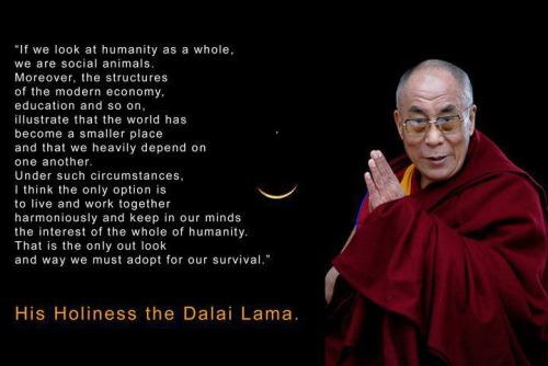 Dalai Lama: Gems On The Road to Peace...