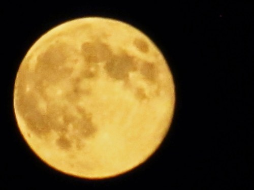 Weekly Photo Challenge: Nighttime - in NY Supermoon 2014