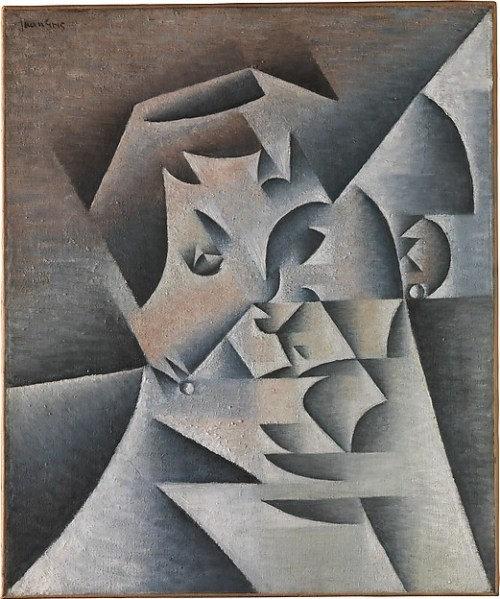 CUBISM: The Exhibition At The Met Museum - Head of a Woman (Portrait of the Artist's Mother) Juan Gris Paris, 1912