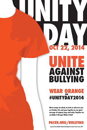 Reflections: Think Before You Tweet! - Unite against bullying poster