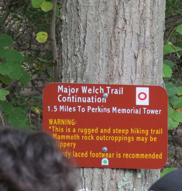 Weekly Photo Challenge: Achievement - We hiked the challenging Major Welsh Trail