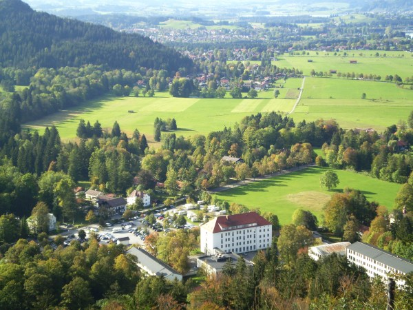 Photo 101-Week 3: From Color to Landscape - View of Black Forest/Alps from  Lichtenstein Castle