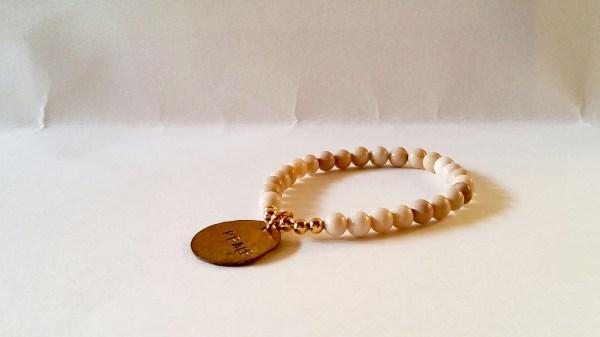 Weekly Photo Challenge: Minimalist - Peace bracelet