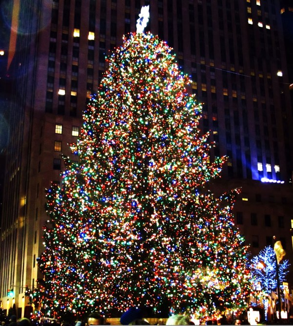 Weekly Photo Challenge: Twinkle - Rockefeller Center Tree