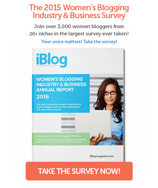 The Women's Blogging Industry & Business  Survey - for Twitter