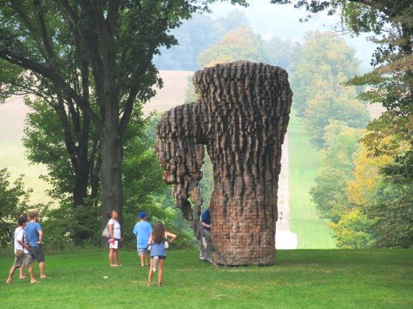 Weekly Photo Challenge: SCALE - outdoor Installation Art at Storm King, NY