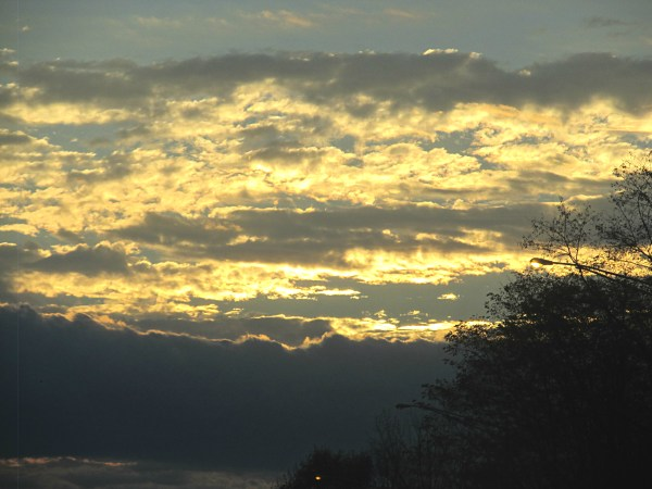 Weekly Photo Challenge: EARLY BIRD - Drive to CT just as dawn begins to peak through