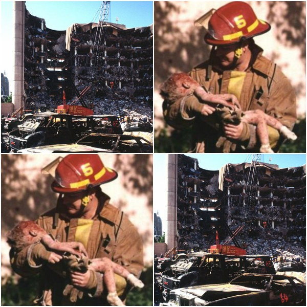 We Feeding Our Children? - Scene from Oklahoma City Bombing