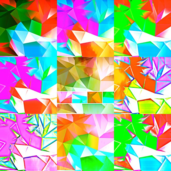 Weekly Photo Challenge: VIVID! Kaleidoscopic vivid art