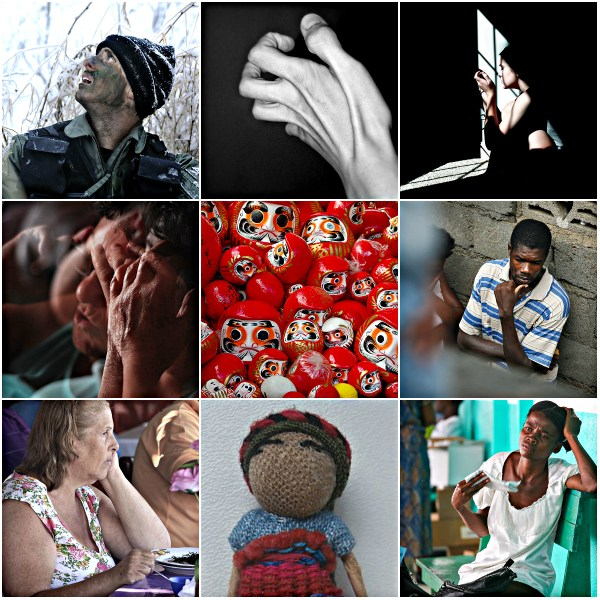 Motivation Mondays: WORRY - Faces, dolls and worry beads