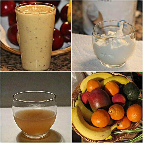 Food Files: Best Apple Cider & Fruit Smoothie - Some of the Ingredients