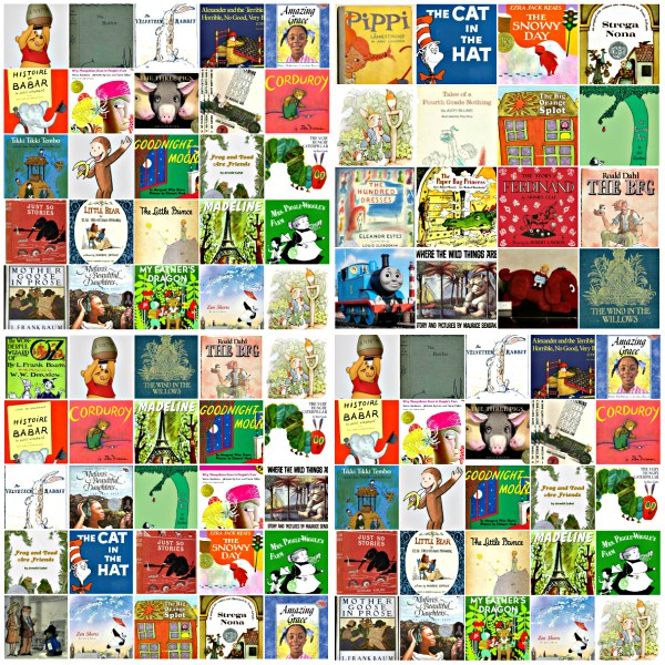 Bedtime Stories: What Do You Remember? - Collage of Popular Bedtime Storybooks