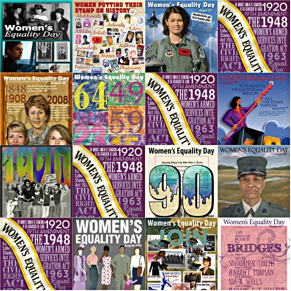 Haiku: Thanks For Sharing! - Celebrate Women's Equality Day - Posters via Defense Equal Opportunity Management Institute