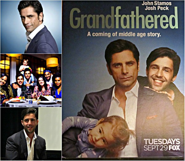 GRANDFATHERED: Superb Comedy Show Coming Your Way! - Stamos, Peck, Edie, and The Cast
