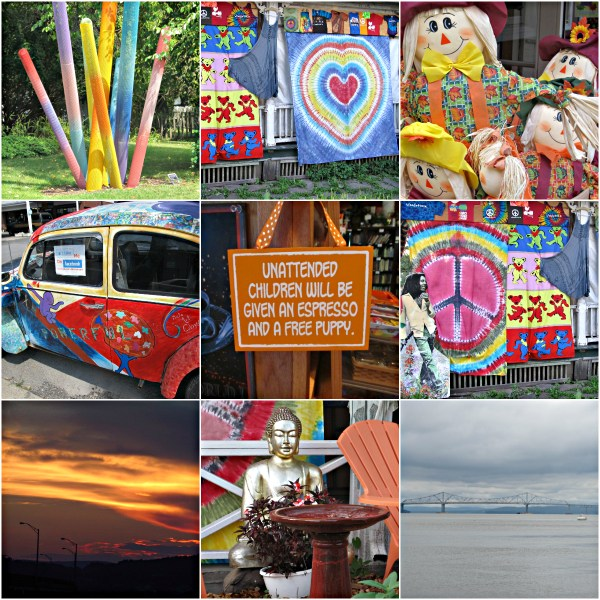Weekly Photo Challenge: HAPPY PLACE - Woodstock and the Hudson River