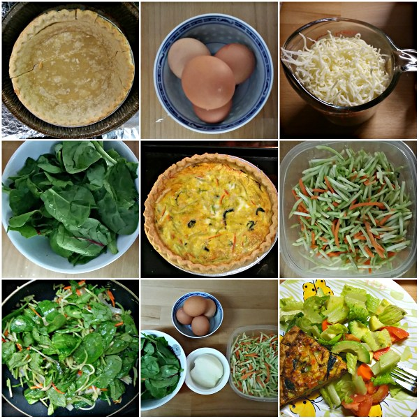 Food Files: Quiche With Mixed Vegetables