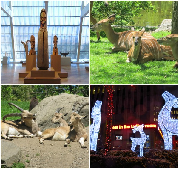 Weekly Photo Challenge: TRIO - Art, Animals ... in repose.