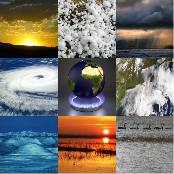 Haiku: Climate Control & Change - Global warming affects all of us