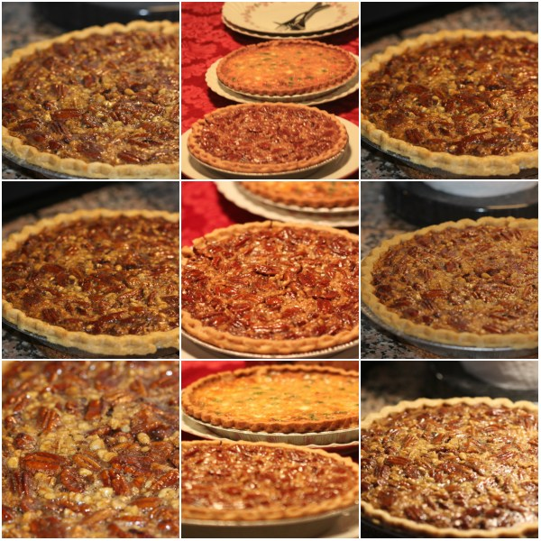 Weekly Photo Challenge: Now - Merry Christmas! Pecan Pie Collage!