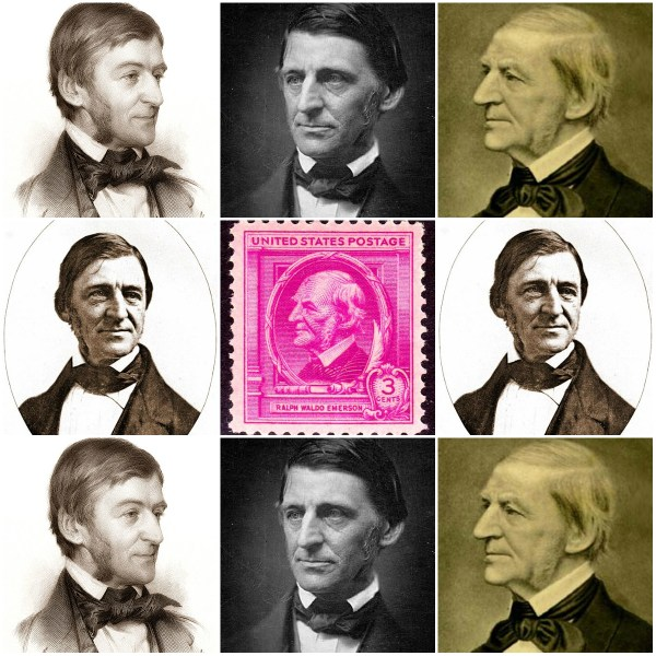 Insist On Yourself; Never Imitate: Ralph Waldo Emerson On Self-Reliance - A Collage of RWE Portraits