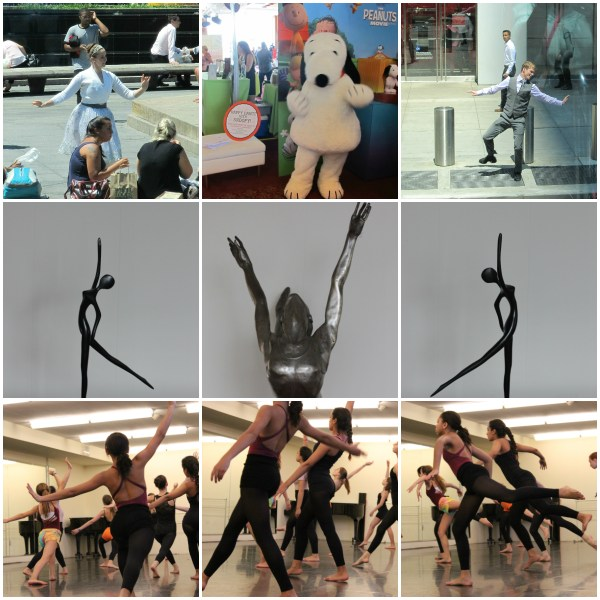 Weekly Photo Challenge: DANCE - a collage of various dancers