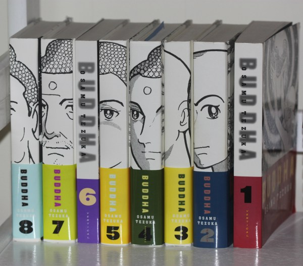 Weekly Photo Challenge: NUMBERS - Numbered set of books by Osamu Tezuka; Cartoonist, Manga expert extraordinaire