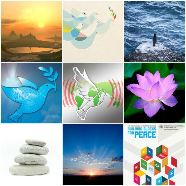 Motivation Mondays: PEACE & GRATITUDE #InternationalDayOfPeace