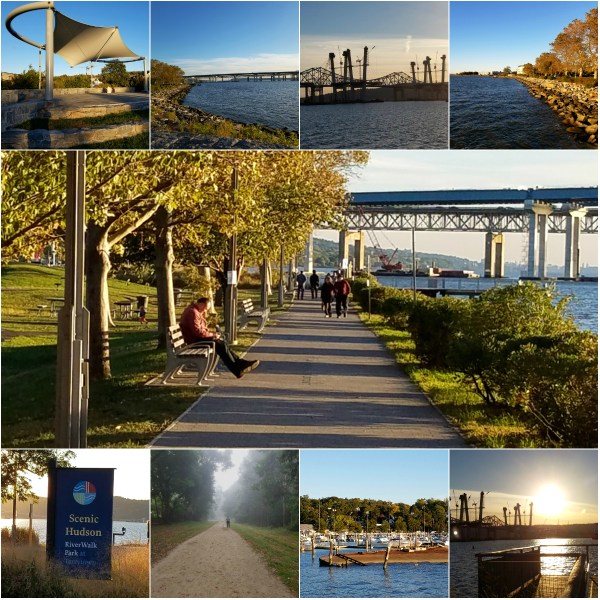 Weekly Photo Challenge: LOCAL - Hudson River & Tappan Zee Bridge from RiverWalk Park