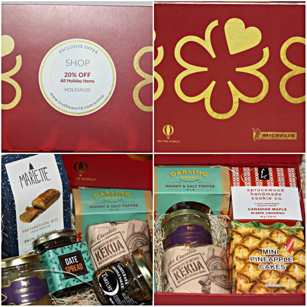 Try The World:- Holiday Box: Michelin Edition - Gift Gourmet Foods & Discount Code