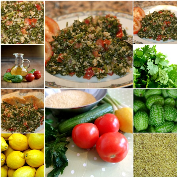 Food Files: Tabbouleh Salad - Fresh, Tart & Tangy Ingredients
