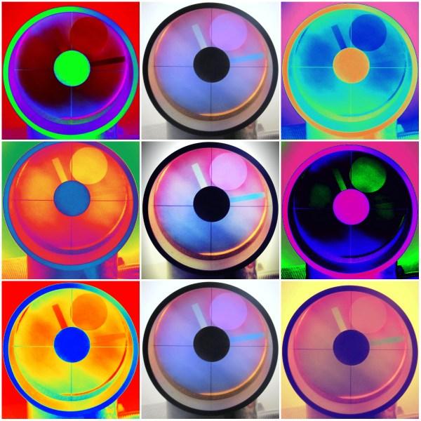 Photo Challenge: Uncommon = Unusual Aurora Clock