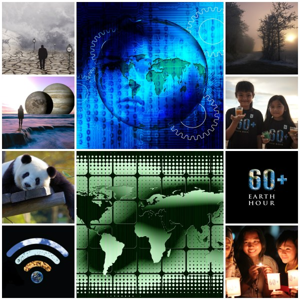 Motivation Mondays: Earth Hour #Connect2Earth
