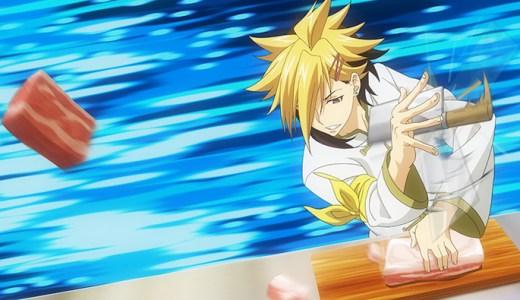アニメ『食戟のソーマ 神ノ皿』第2話ネタバレ感想!美作昴のパーフェクトトレイスが発揮される!