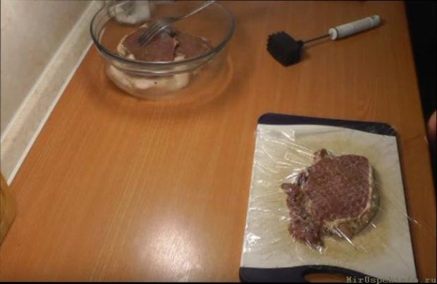 отбивные из свинины простые рецепты