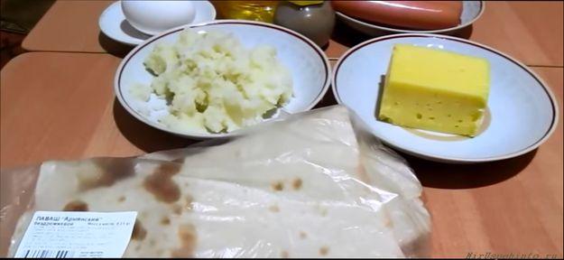 sosiska-v-lavashe-recept-s-kartoshkoj