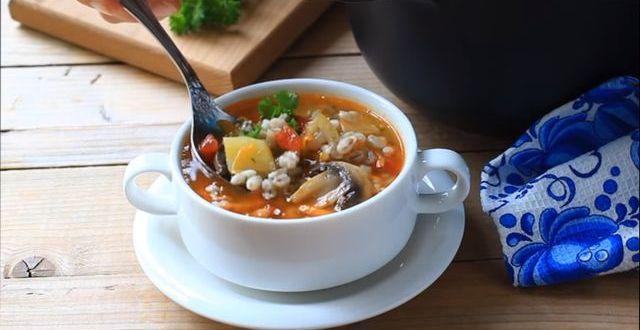 Как правильно приготовить вкусный грибной суп