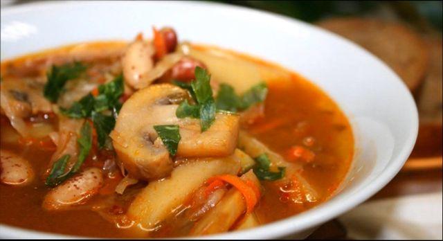 Суп з грибами - класичні рецепти