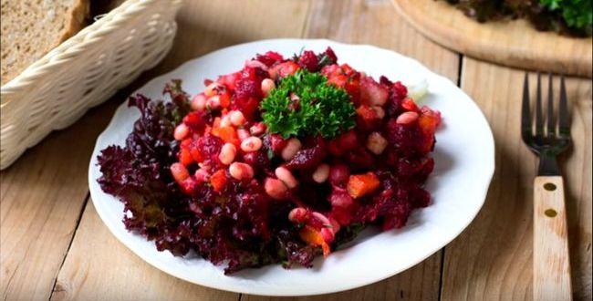 Винегрет – классический овощной салат